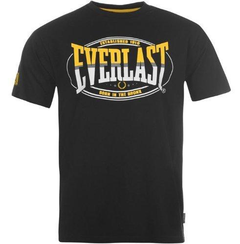 Everlast Herren Classic T-Shirt, schwarz