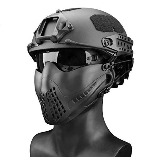 Ba30DEllylelly Máscara de Halloween Máscaras de Campo Airsoft Paintball Máscara tractical Glory Knight Máscara Equipo de protección táctico