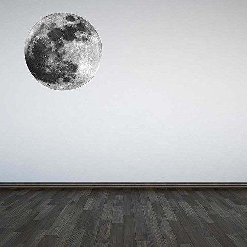 Terre Espace Lune Planète garçons Chambre  Autocollant Chambre 3D Vinyle enfants