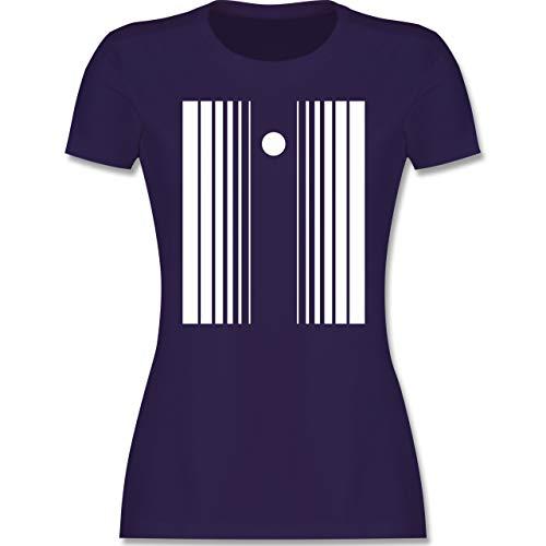 Karneval & Fasching - Doppler-Effekt - S - Lila - Sheldon - L191 - Tailliertes Tshirt für Damen und Frauen T-Shirt