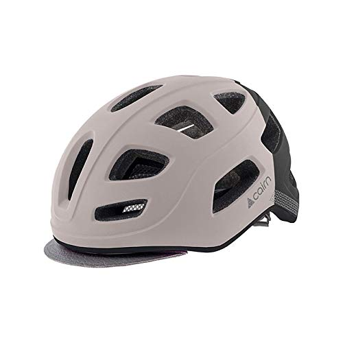 Cairn - Fahrradhelm Cityeinsatz Active Pulver Rosa - Quartz - Schutz Licht LED Unisex Modisch Stylisch Cool