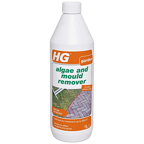 HG Algae and Mould Remover 1L - Removes Algae from Patios - for Grey-green Veil