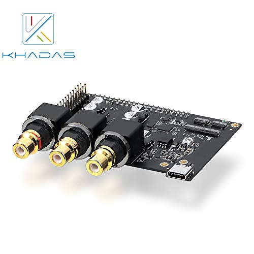 youyeetoo Khadas Tone Board Hi-Res Audio USB DAC Based in Chip 32-bit ES9038Q2M XMOS XU208 External Sound Card with S/PDIF Input
