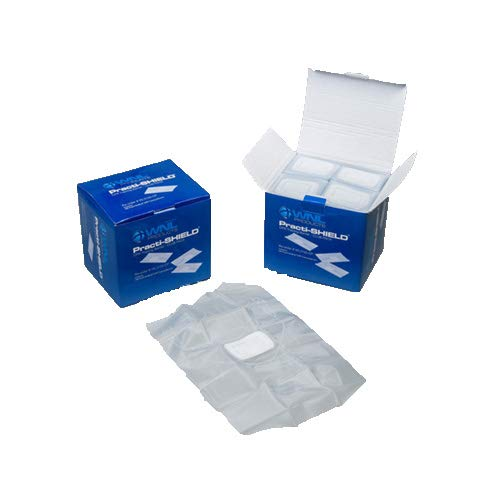 WNL Products WL3120CP CPR Practi-Shield Manikin Training Protectors Club Pack (200 Shields)
