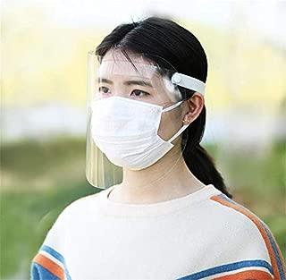 DAPENF Face Shield Protection transparente du visage pour laboratoire 10 PCS cuisine Utilisation Protection contre la poussi/ère deau Brouillard Visor m/énage