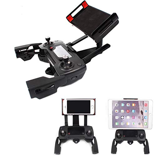 Crazepony-UK Adjustable Cellphone Tablet Monitor Holder Bracket for DJI Mavic Pro DJI Spark Drone Transimitter Accessories Fits All Smartphones 7.9 / 9.7 / 10.9 inches Tablets