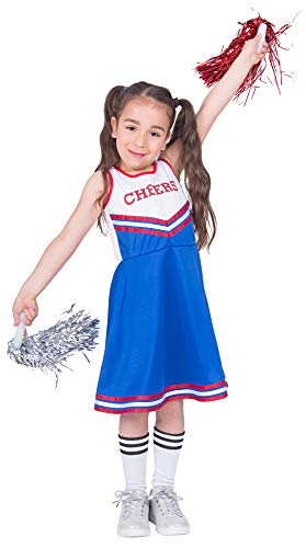 Cheerleader Cheers Kostüm für Mädchen - Gr. 128