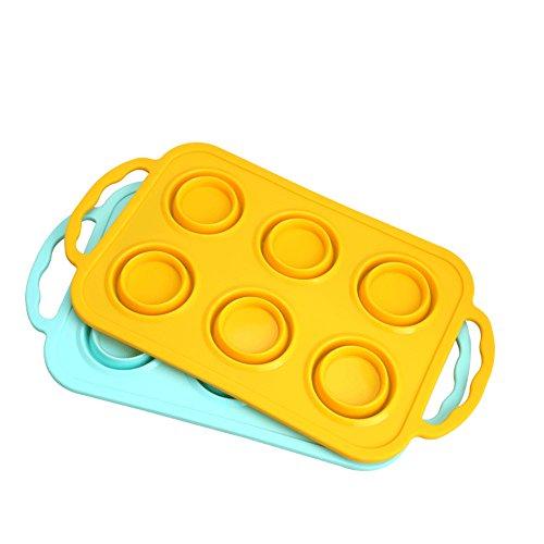 YXNN bakgereedschap uit de familie met de handgrepen - sfeerbescherming hoge temperatuur van de muffins cake taart gelatin DIY siliconen