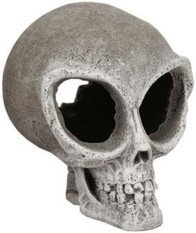 Fish & Aquatic Supplies Resin Ornament  Alien Skull  Small by bluee Ribbon
