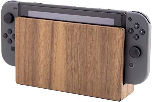 Nintendo Switch ドック 用 スキンシール 選べるカラー 木目調 ナチュラルウッド カバー シール ケース 高級素材 背面対応 丈夫で長持ち 保護 高級感のある手触り 簡単に貼り付け可能 NintendoSwitchi (01 ナチュラルウッド)