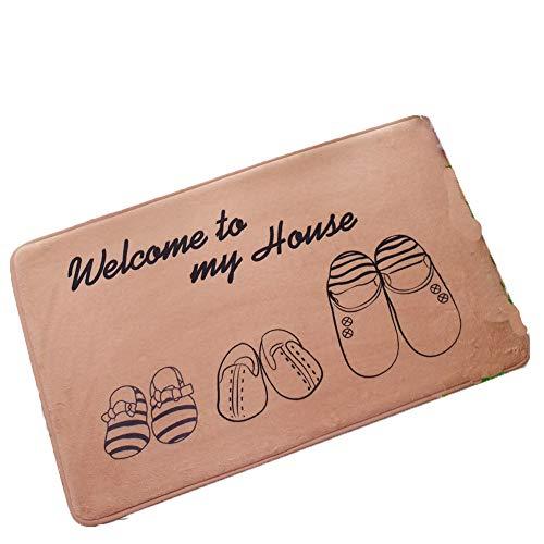 Adelina tapijt fabrikant Welkom Vogel vloermat Eiffel ijzeren mat Welkom schoen Fashionable Completi deurmat