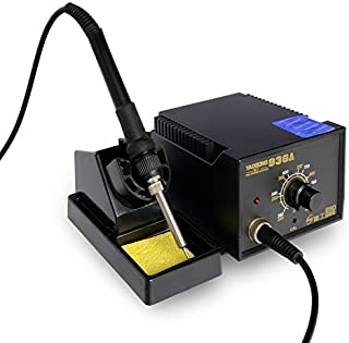 YAOGONG 936A Smd Electronic Soldering Rework Station Adjustable For Phone Repairing With 6 Pieces Soldering Iron Tips …