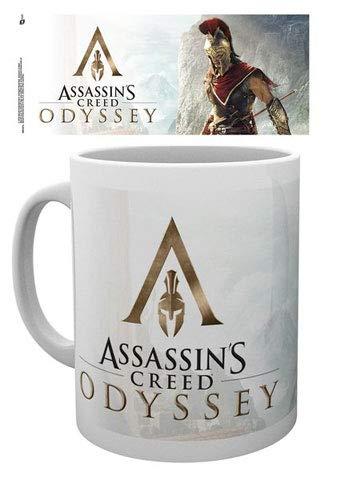 empireposter Assassins Creed - Odyssey - Alexios - Keramik Tasse - Größe Ø8,5 H9,5 cm + Zusätzlich erhalten Sie eine Lizenz Keramik Tasse - Größe Ø8,5 H9,5 cm