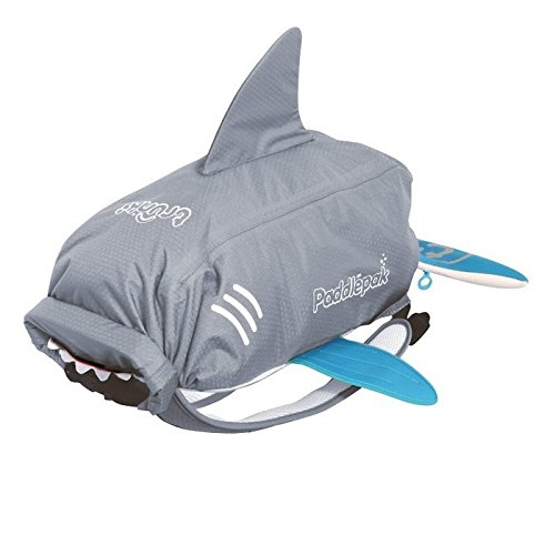 Trunki Paddlepak Mochila Infantil, Color Gris