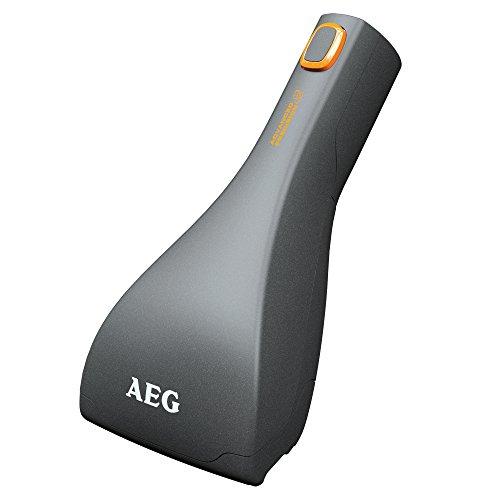 AEG AZE116 Mini-Turbodüse (Aufnahme von Tierhaaren und Fasern auf Polstermöbeln, Polsterreinigung, optimale Saugleistung, schonende Reinigung, passend für AEG-Sauger mit 36 mm Ovalrohr, grau)