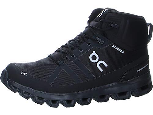 On Running M Cloudrock Waterproof Schwarz, Herren Wanderschuh, Größe EU 44.5 - Farbe All Black