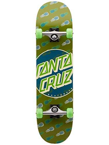 SANTA CRUZ Skate Complete Tropic DOT Sk8 8.0