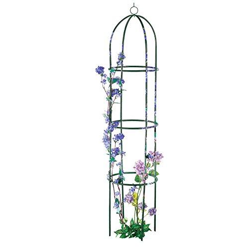Collections Etc 6ft Garden Plant Trellis, Green