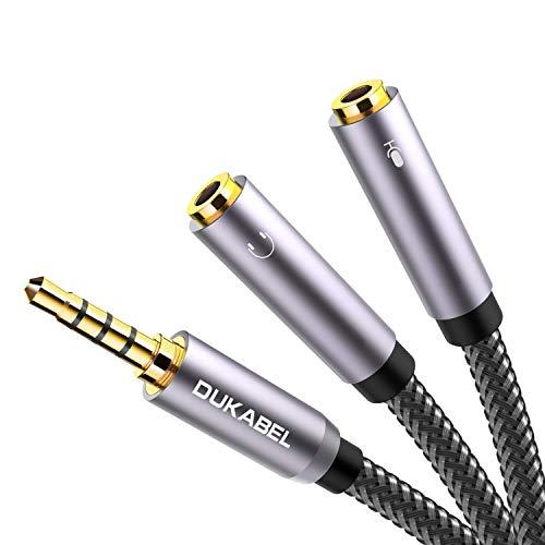 DuKabel Top Series Headsets Splitter Adapter(30CM & 120CM)
