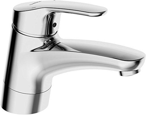Hansa Waschtisch-Einhebelmischer HANSAMIX 01182183 mit schwenkbarem Auslauf, ohne Ablaufgarnitur, verchromt