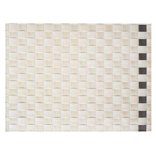 Saleen 1010154201 Gewebe-Tischset Simplicity, sahara / taupe