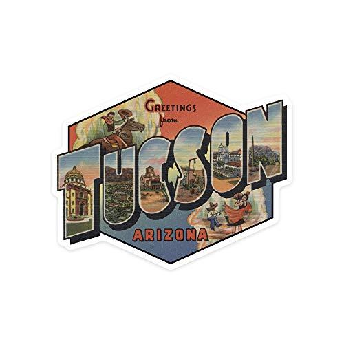 H421ld Tucson, Arizona, grandes escenas de letras, contornos de vinilo para coche,...