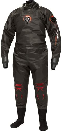 Bare Nex-Gen Pro Dry Men's Black Tall Cheap super special price Diving Drysuit Medium New Shipping Free Shipping
