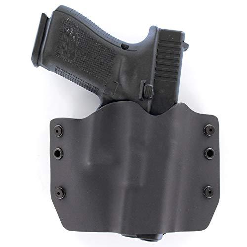 OWB Holster - Matte Black (Right-Hand, Fits Glock Polymer 80-17,22,19,23,26,27 - PF940C, PF940V2, PF940CL, PF940SC)