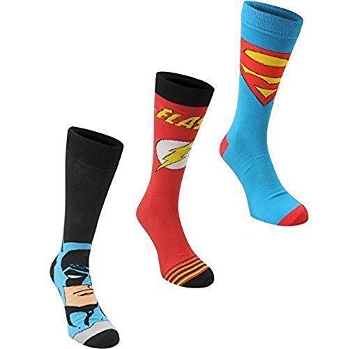 DC Comics Lizenz Herren Socken 3er Pack