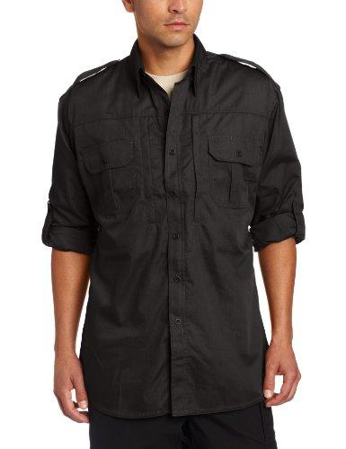 Propper T-Shirt Tactique à Manches Longues pour Homme - Noir, Taille M