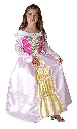 Bristol Novelty- CC780 Costume de Princesse Qui dort, Taille, Rose, Moyen