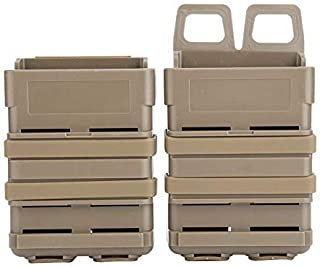 VGEBY Magazine Pouch Bag 5.56 FastMag Heavy Attached Mag Pouches Holder (ton)