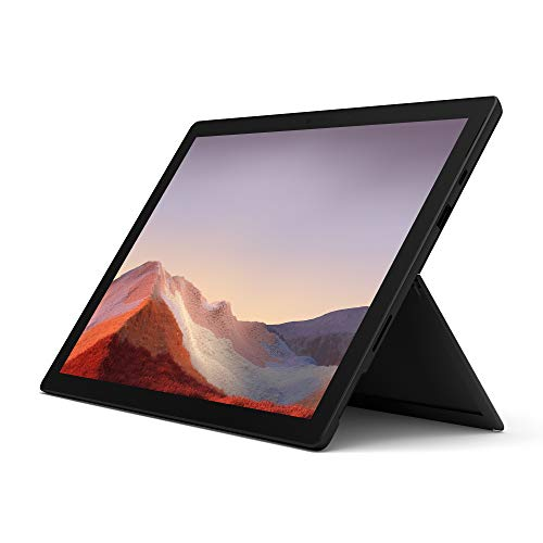 Microsoft Surface Pro 7, Core i7, RAM 16 GB, SSD 256 GB, Nero