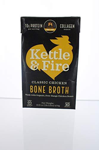 Kettle & Fire - Bone Broth Chicken - 16.2 fl. oz.