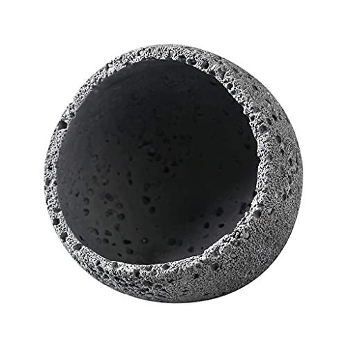 Tazón de llave para la mesa de entrada, caja de almacenamiento universo nórdico espacio agujero negro bandeja pórtico llave de almacenamiento sala de estar escritorio escombros decorativos bandeja