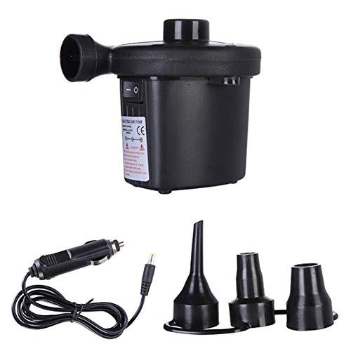 YXDS Bomba de Aire eléctrica portátil de 12 v CC, colchón de Aire, Bomba Inflable de Aire automático para Barco, para Coche, inflador para Acampar