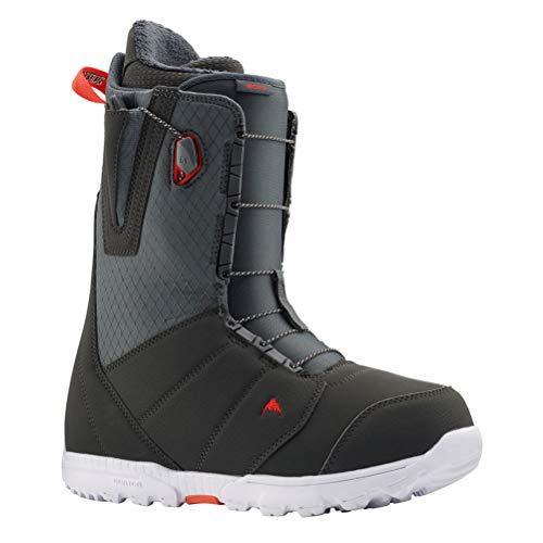 Burton Moto Snowboard Boots Mens Sz 14 Gray/Red