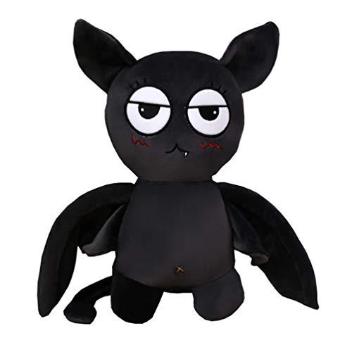 Tomaibaby Schöne Fledermaus Plüsch Mini Schwarze Fledermaus Plüsch Spielzeug Stofftier Kissen Puppe Kinder