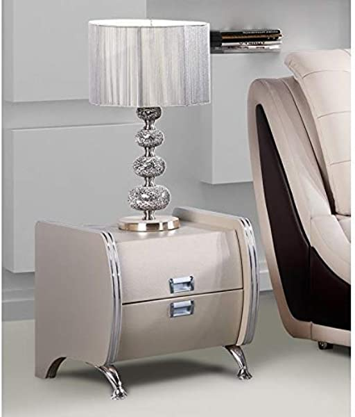 US Pride Furniture B8049 NS Lily Drawer Nightstand