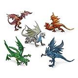 Animal Zone Dragon Collectibles - 5pk