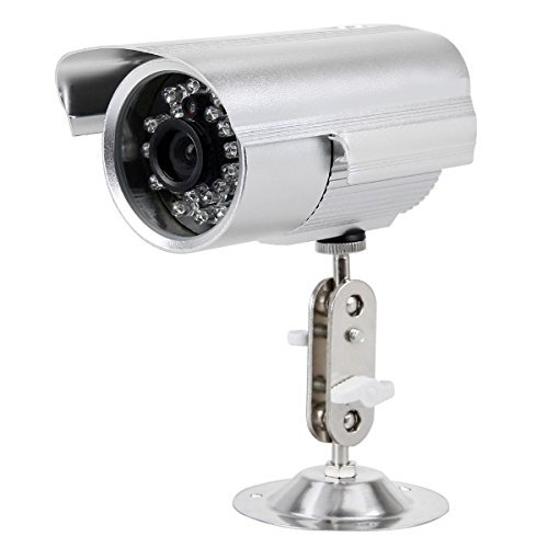 081 Store - telecamera videosorveglianza con registrazione su micro SD con 24 led infrarossi