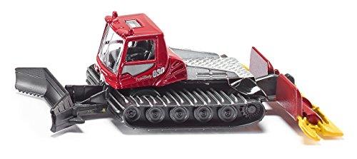 SIKU 1037, Pistenbully, Metall/Kunststoff, Rot
