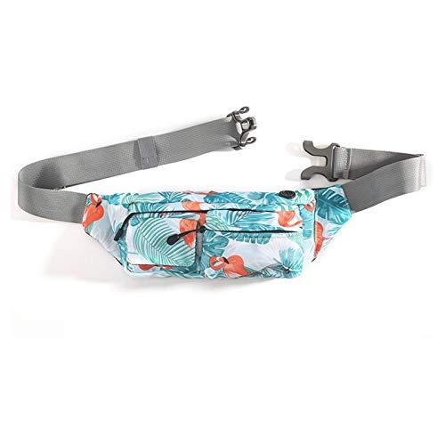 JTKDL Bolsa de Cintura multifunción para al Aire Libre, Viajar, Acampar, Compras (Color : Multi-Colored)