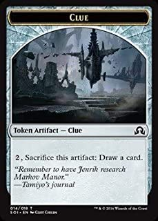 Clue Token (Cliff Childs) X4- Shadows Over Innistrad