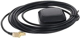 GPS Antena Activa SMA Interfaz de Codo Macho 3M, 28dB LNA Ganancia 1575.42MHz GPS Antena Activa Señal más Fuerte