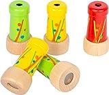 Small Foot Small foot-11746 Mini Caleidoscopio,, Madera, Juego de 5 prismas, Ideal como Recuerdo para niños a Partir de 3 años. Toys (11746)
