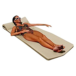 Texas Recreation Sunsation 1.75″ Thick Swimming Pool Foam Pool Floating Mattress
