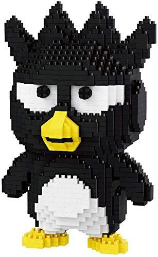 Mini Bloques Serie Animal Pato, Oso, Montaje De Pingüino Modelo Nano Bricks 3D Puzzle Toys Regalo para Niños,Bear