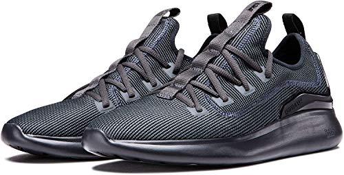 Supra Factor, Zapatillas de Skateboard Unisex Adulto, Gris (Dk Grey-Black-M 27), 45 EU