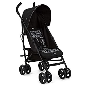 Joie Nitro Baby Stroller Pushchair Lightweight Stroller Baby Buggy with Raincover - Waves Caviar   4